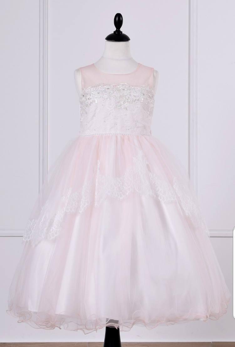 La robe petite fille rose.