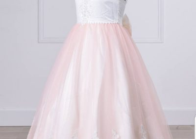 Robe- princesse- rose- RLL-3619T -profil