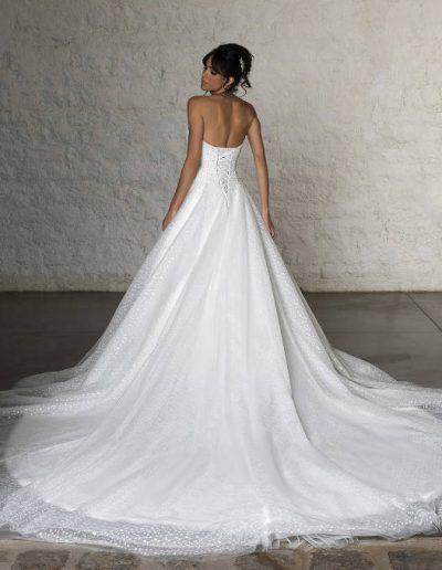 robe princesse dos laçage